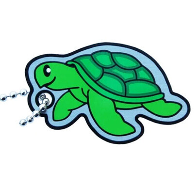 Sea Turtle Travel Tag