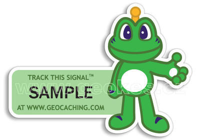 Signal the Frog - trackable sticker