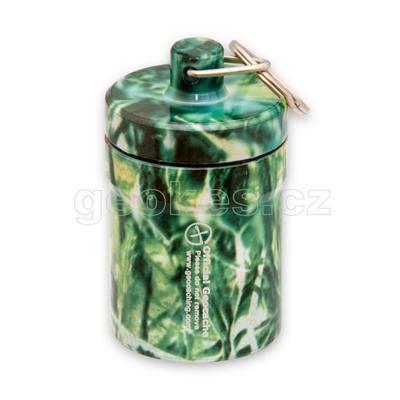 Small geocache - aluminium container FORREST