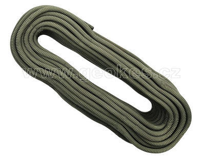 Rope Singing Rock STATIC R44 10.5, 50 m | khaki