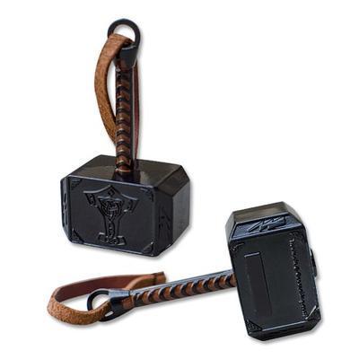 Mega Thor Hammer Geocoin - Black Nickel