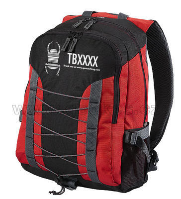 Travel bug backpak - red - 1