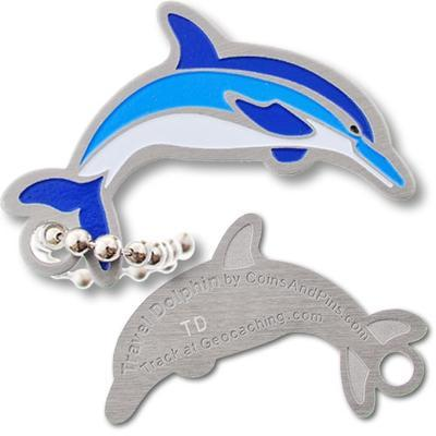 Travel Dolphin Travel Tag