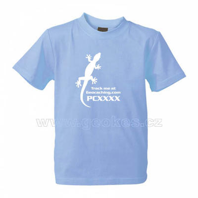 Childrens Trackable Gecko t-shirt