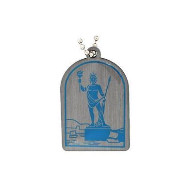 Ancient Wonders of the World Trackable Tag- Colossus of Rhodes