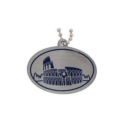 Modern Wonders of the World Trackable Tag- Roman Colosseum