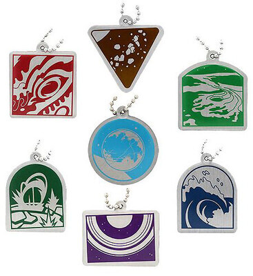 Wonders of the Solar System Travel Tag Set - All 7 Tags
