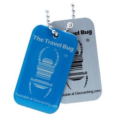 Travel Bug QR - Blue - 2