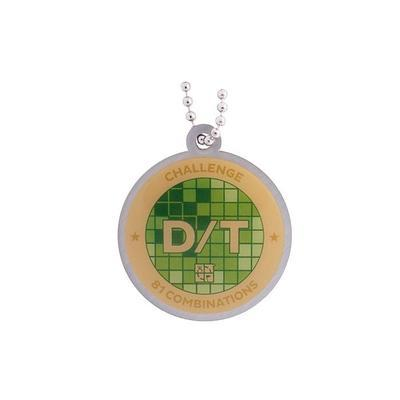 D/T Grid Milestone Geocoin and Tag Set - 2