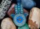 Hamsa Amulet Geocoin - Sapphire - 2/2