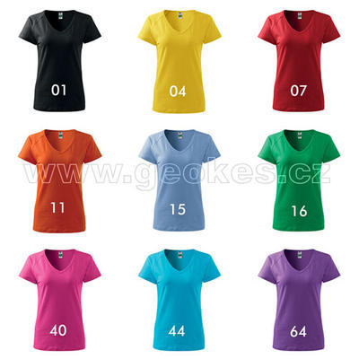 Ladies Gecko t-shirt - with personal nick - 2