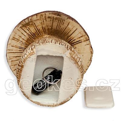 Mushroom geocache - complete kit - 2