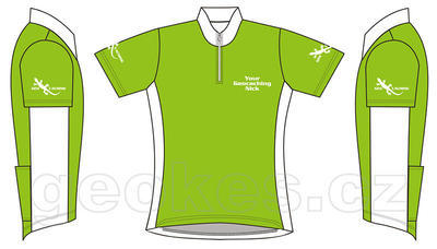 Cycling jersey ladies - geocaching nick - 2