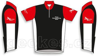 Cycling jersey - geocaching nick - 2