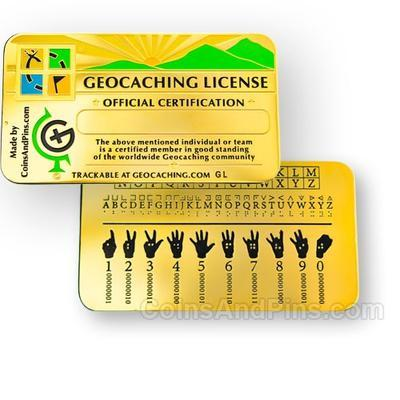 Geocaching License - 2