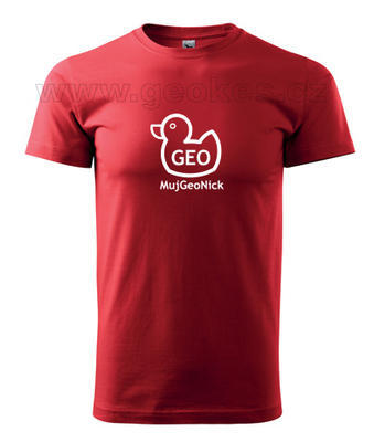 Geo duck tshirt - nick - 2