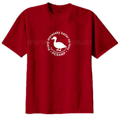 Moravian geocacher trackable t-shirt - 2