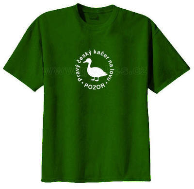 Czech geocacher t-shirt - 2
