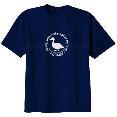 Slovakian geocacher trackable t-shirt - 2