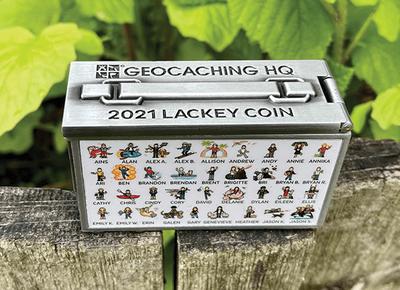 2020 Lackey Geocoin / Tag Set - 2