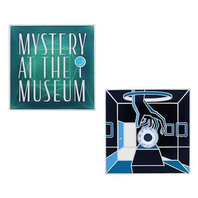 Mystery at the Museum Geocoin and Tag Set - 2