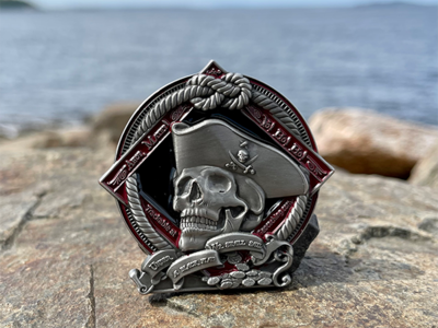 2021 Pirate Geocoin- Courage - 2