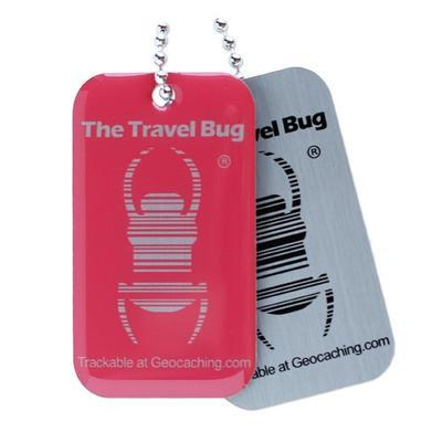 Travel Bug QR - Atomic Pink - 2