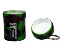 Small geocache - aluminium container CAMO - 2