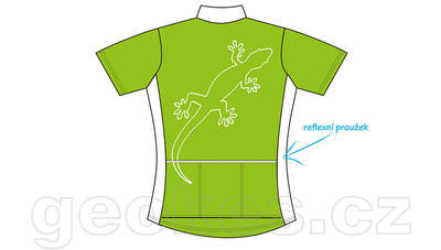 Cycling jersey ladies - geocaching nick - 3