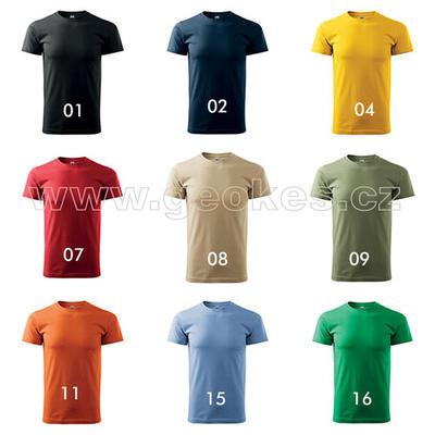Czech addicted geocacher trackable t-shirt - 3
