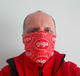 Tube bandana GIGA Prague 2020  - red - 3/3