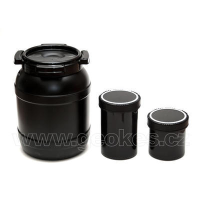 Black geocache container 1 l - 4